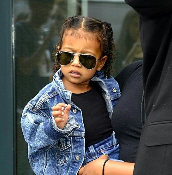 XoJane: 8 Wardrobe Staples Courtesy Of North Kardashian West - Piece on XoJane featuring the fashion staples I'd totally steal, and have stolen (no shame), from the closet of the world's smallest fashionista — North Kardashian West.
