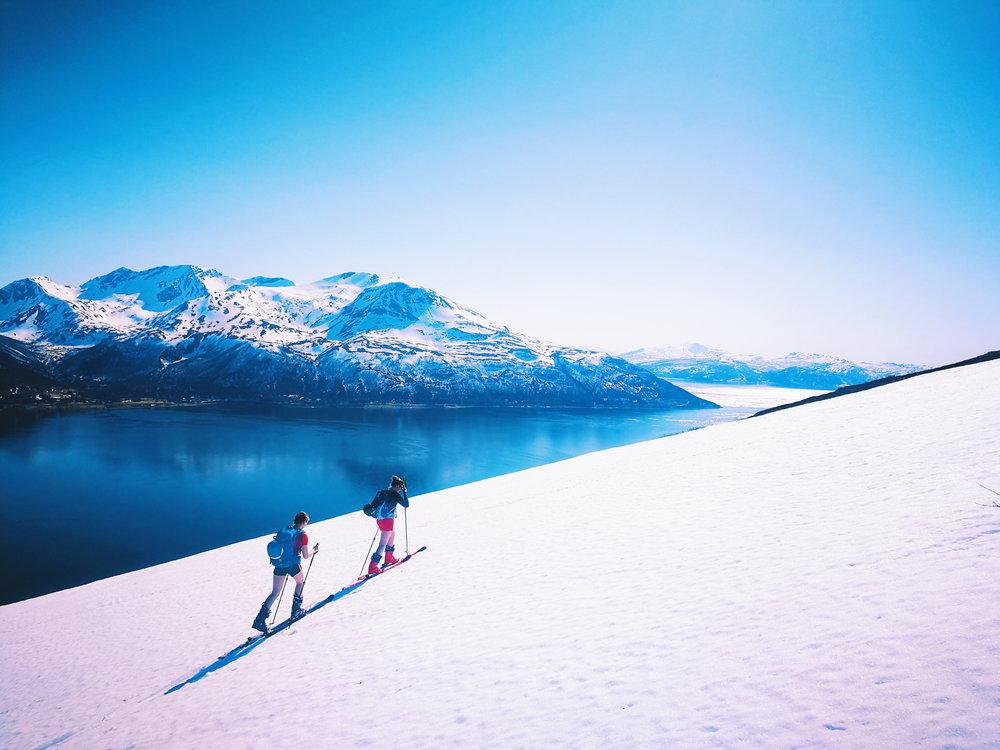 Skiing in Tromsø, Norway