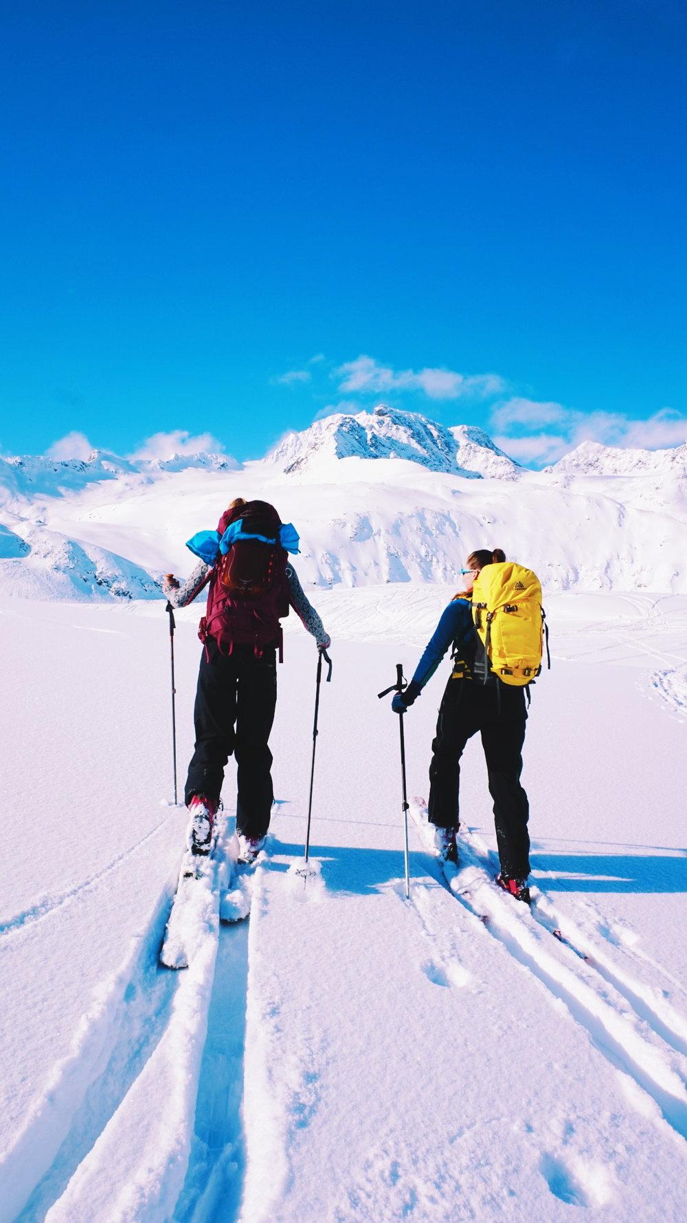 The Lyngen Alps, in Troms, Norway