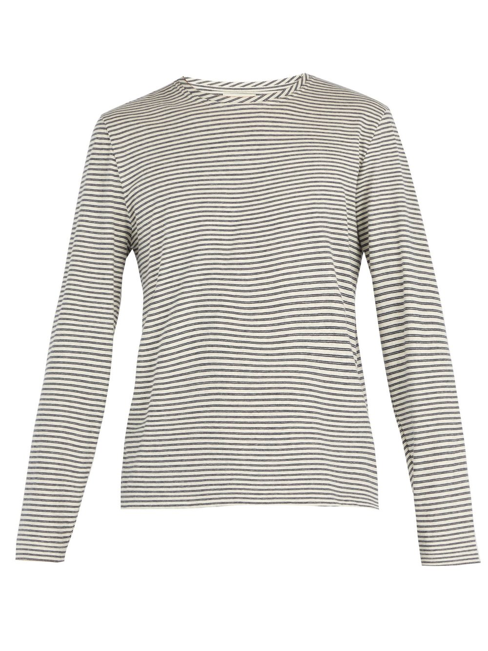 A striped cotton top from Oliver Spencer  - £70  Photo: www.mrporter.com