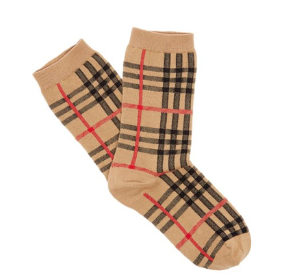 Vintage Burberry socks  - £39  Photo: www.mrporter.com