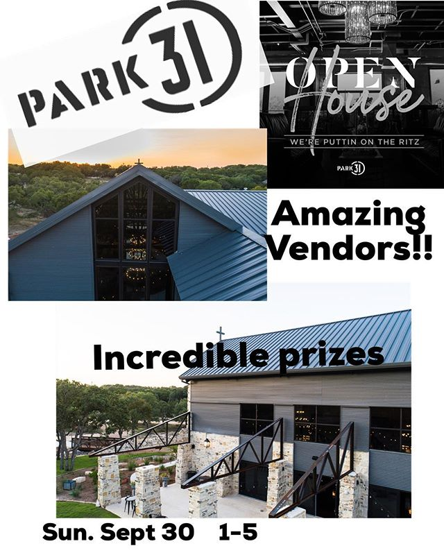 RSVP TEXT OR EMAIL  210-526-0310  events@park31.com  Our incredible vendors include... @heavenlygourmetcatering @jimmylynscatering @donstrangeoftx @forkandgarden @timthegirl @bartenders4you @bartendersanddreams @kindleandgather @sweetaugustevents @yourdayyourway_gloria @socialsinthesouth @swanky occasions @snapchicplanning @jkazen @snapchicphotography @chandrascollection @straughan_photography @5050photobooth @libby.castle &picpichooray @theelegantbee @evemberfloral @rileynrose @thebloombartx @tonycenterprises @creationcakes @cakescouture @cakesandmoresa @stella.haus.films @driskillfilms @reneegreen89 @mymakeupmovement @rusticromance @cruvintage @the_stuarthouse @papernapkinpress @partiesbydesign @celebritylimo @toddkabes @celebritylimotx @tonycenterprises