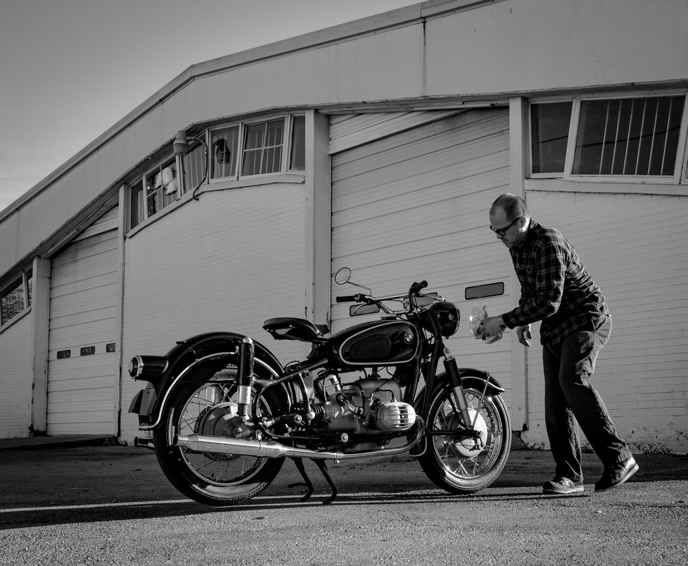 Restoration - A passion and objective for the shop is to preserve the historic tradition of BMW motorcycles through our restoration projects. Not only are these bikes testaments to the resilience BMW is founded on but a lot of these projects are nostalgic links given new life for our clients.