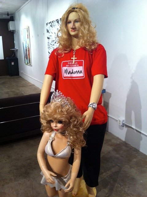 Madonna and Child -   narcissism and beauty pageants