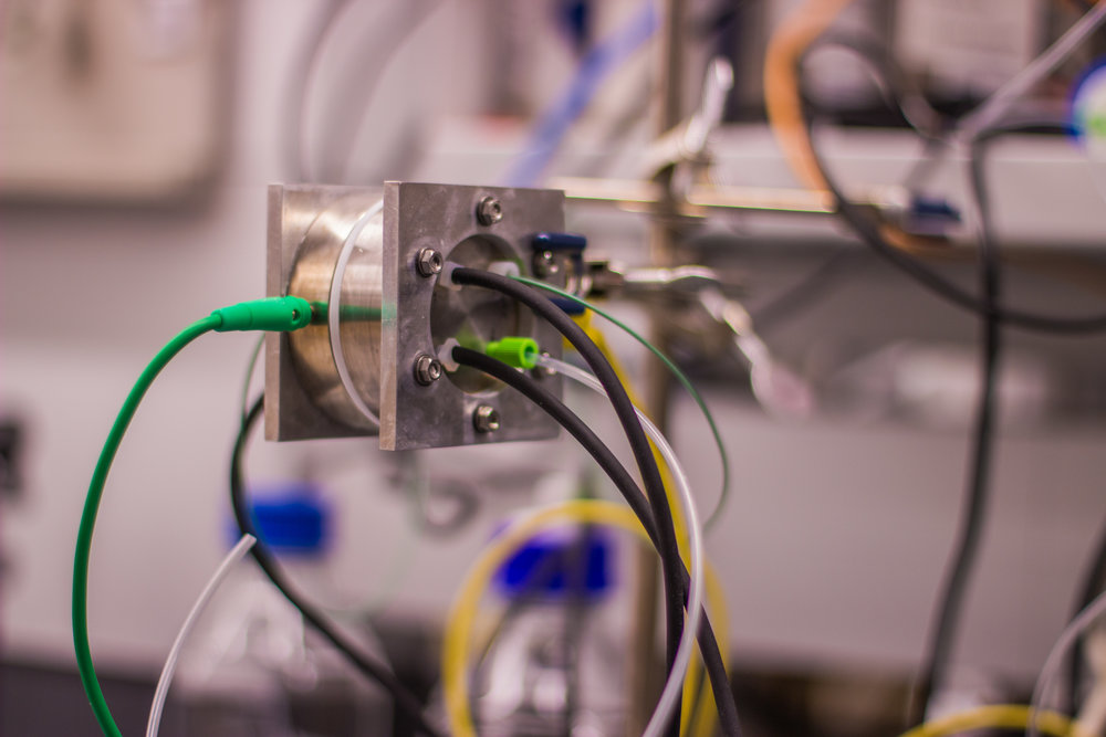 Research-scale electrolyzer for catalyst development