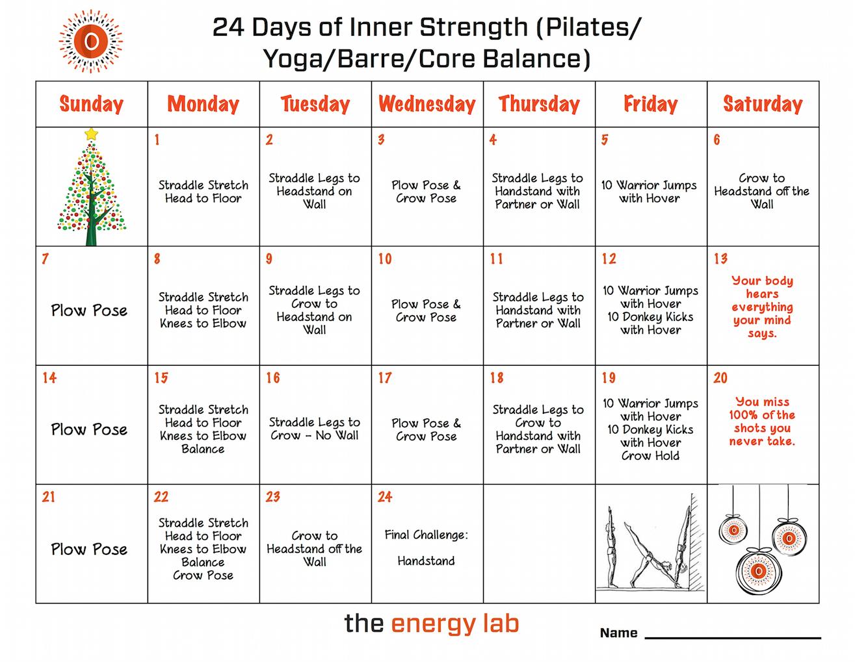 24 days inner strength