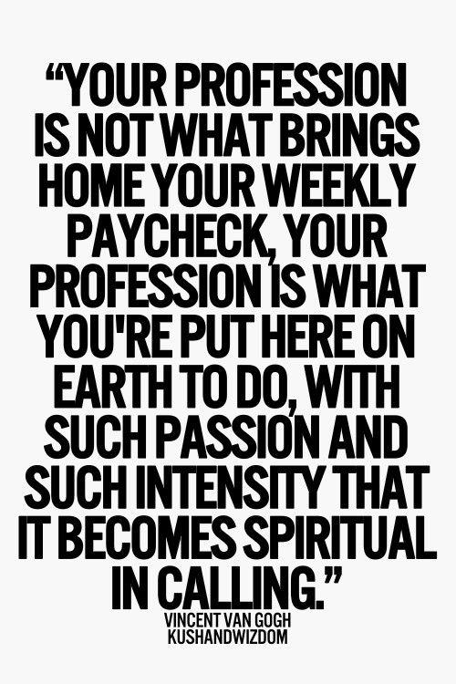 spiritual calling