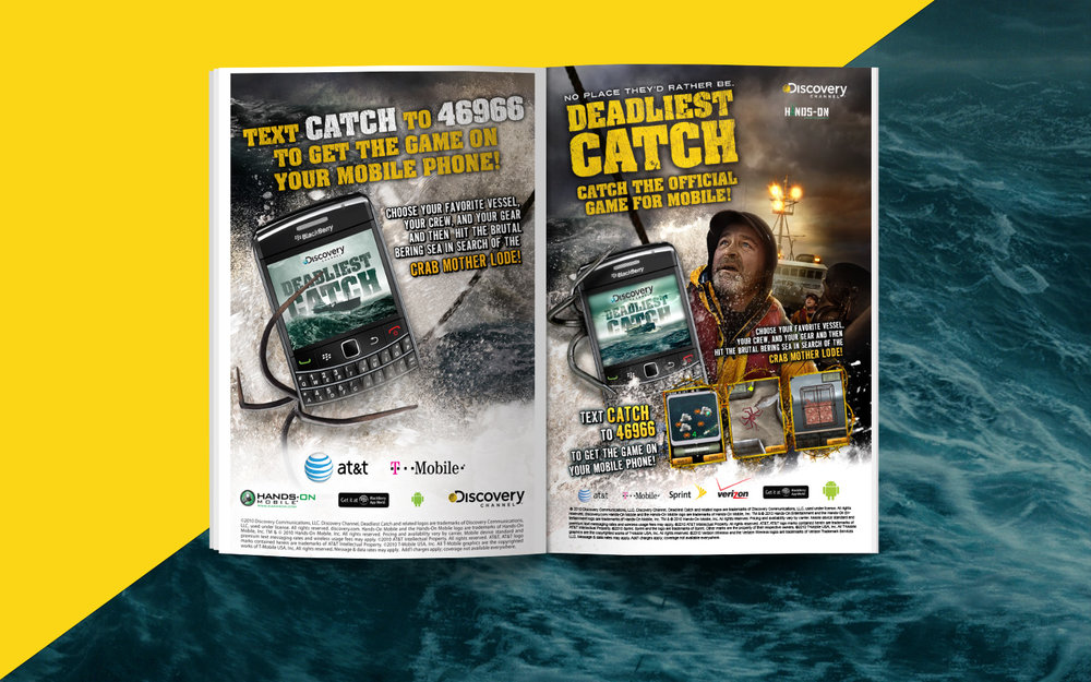 DEADLIEST CATCH MOBILE GAME
