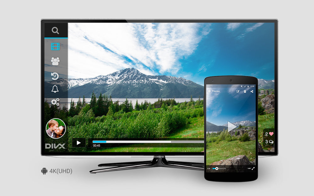 DivX 4K VIDEO CROSS PLATFORM STREAMING APPLICATION