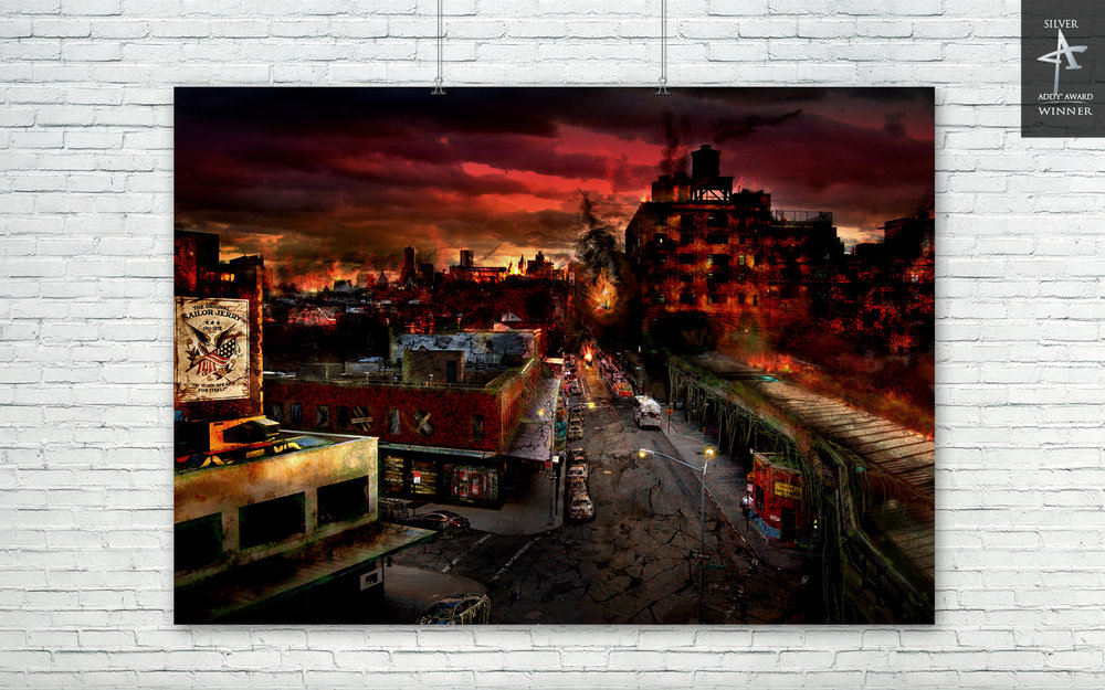NYC POST APOCALYPTIC DIGITAL PAINTING