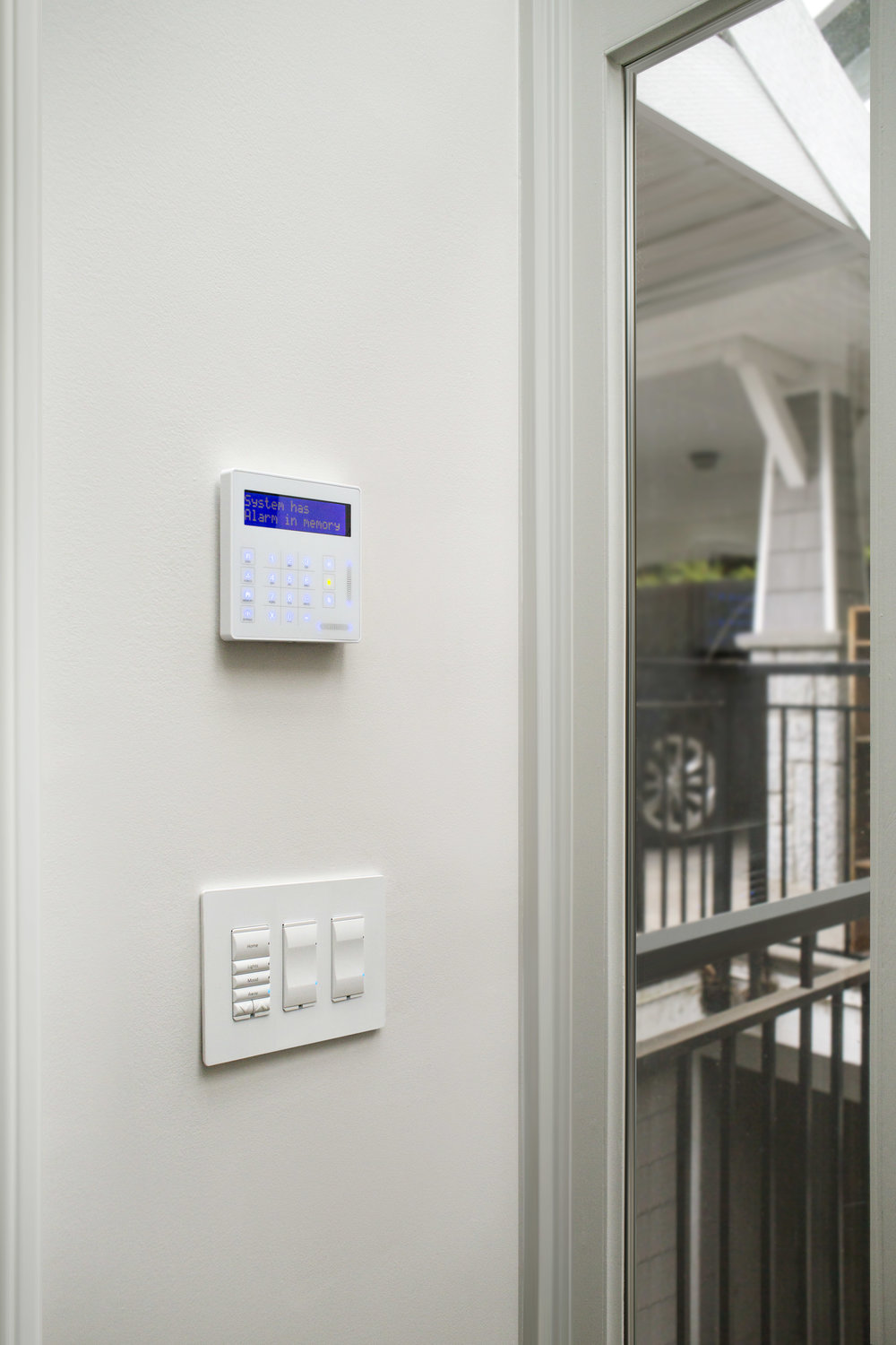 Modern security systems combine both intrusion alarm and access control capabilities that can all be integrated into a wider control system such that accessing a gate with a fob on your keychain also instructs lights to turn on and light your path.