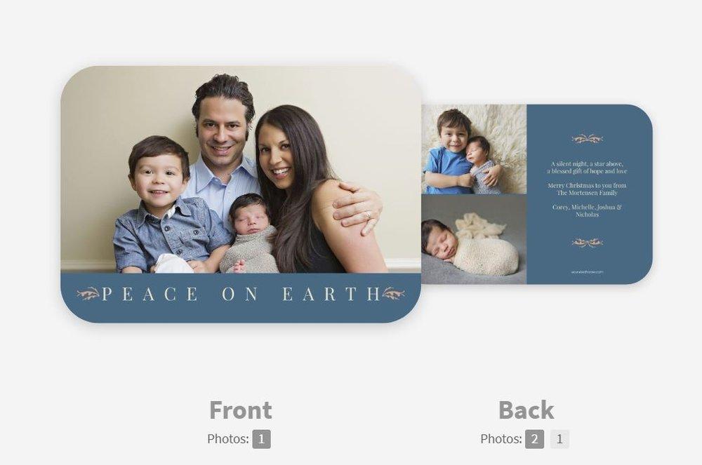 CARD 2: PEACE ON EARTH -