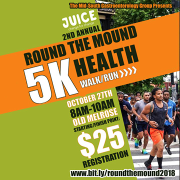 Round The Mound 5K Walk - October 27, 2018