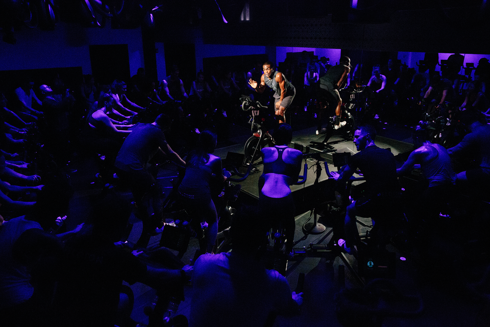 Peloton Bike - Fitness at your fingertips.The Peloton bike brings you the most convenient and immersive indoor cycling experience. The Peloton NYC studio streams daily live classes ranging from 20-45 minutes directly into our gym. Our facility offers two bikes to ride at your convenience.  Please remember to bring your headphones and cycling shoes are optional.