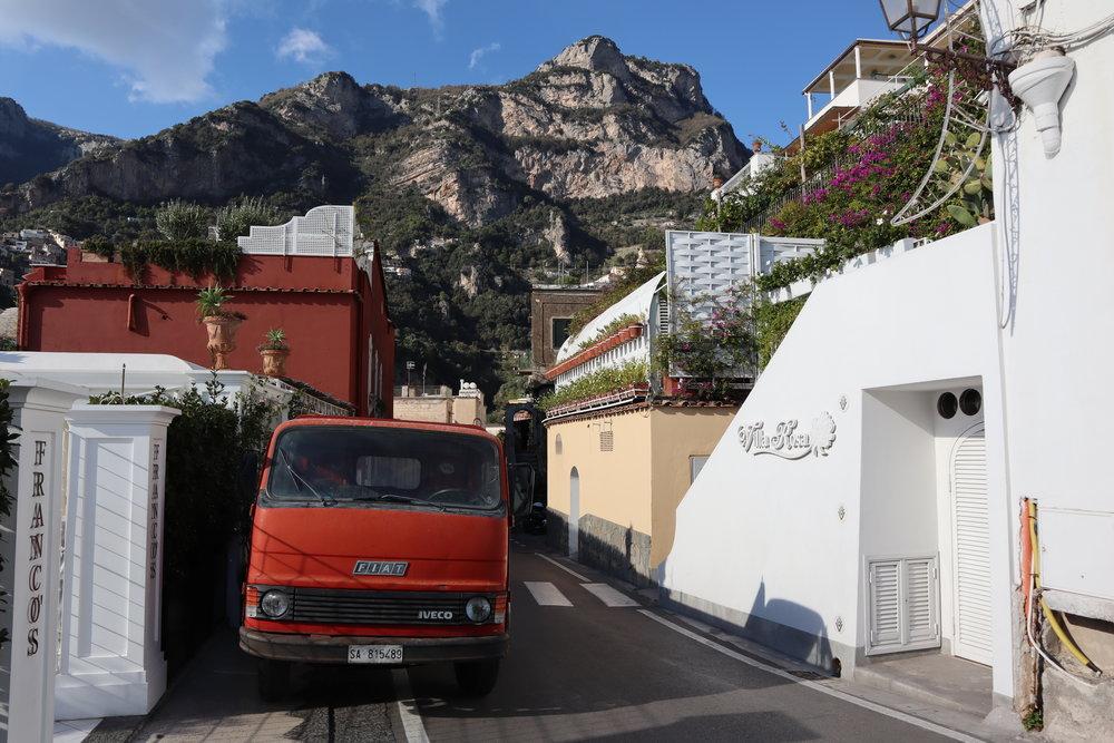 Fiat • Positano, Italy • 2018
