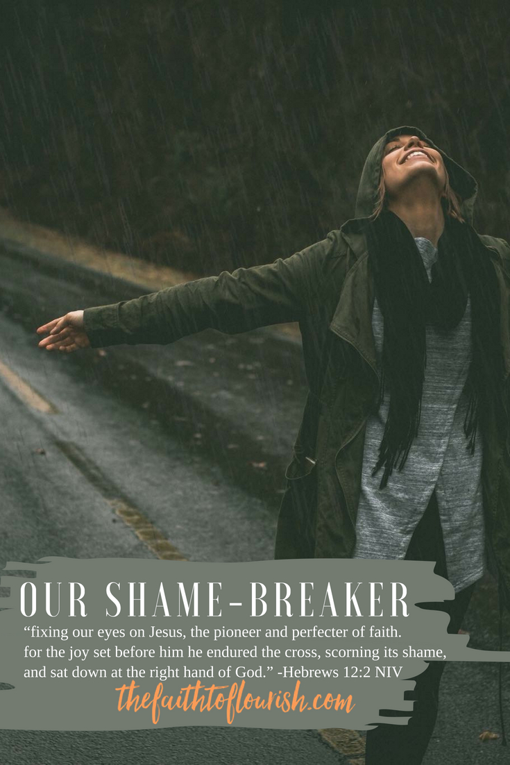OUr Shame-Breaker has set us free from any shame we have every felt. whether we did something we are ashamed of or something was done to us that brings us shame, god is the answer to our freedom. shame and guilt can make us feel less than others, scarred and wounded. we fail to see ourselves for who we really are, as god sees us. past sins, addiction, mental illness, our body shapes and sizes, our abilities or disabilities, and so many other areas we feel we fall short keep us ashamed and locked into the lies we believe. god sees us through his eyes of love. with him, we can be free from shame. dawn r. ward, the faith to flourish, shares hope and healing in this blog. click here to read now or pin and save for later.
