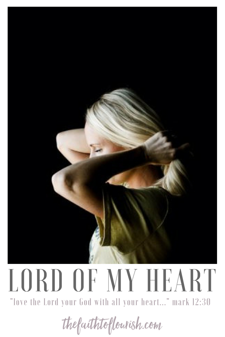 Giving the Lord our hearts is easier said than done. if we are depressed or hurt or broken or if someone we love very much is hurting, we just want relief and healing. we come to the Lord pleading for help and to be set free from pain like depression, sickness, anxiety, mental illness, physical suffering or having a loved one who is suffering is almost impossible to bear. learning to make God the lord of our hearts will help us to rise above our hardships. his grace and mercy are more than enough to carry us no matter what we are going through.