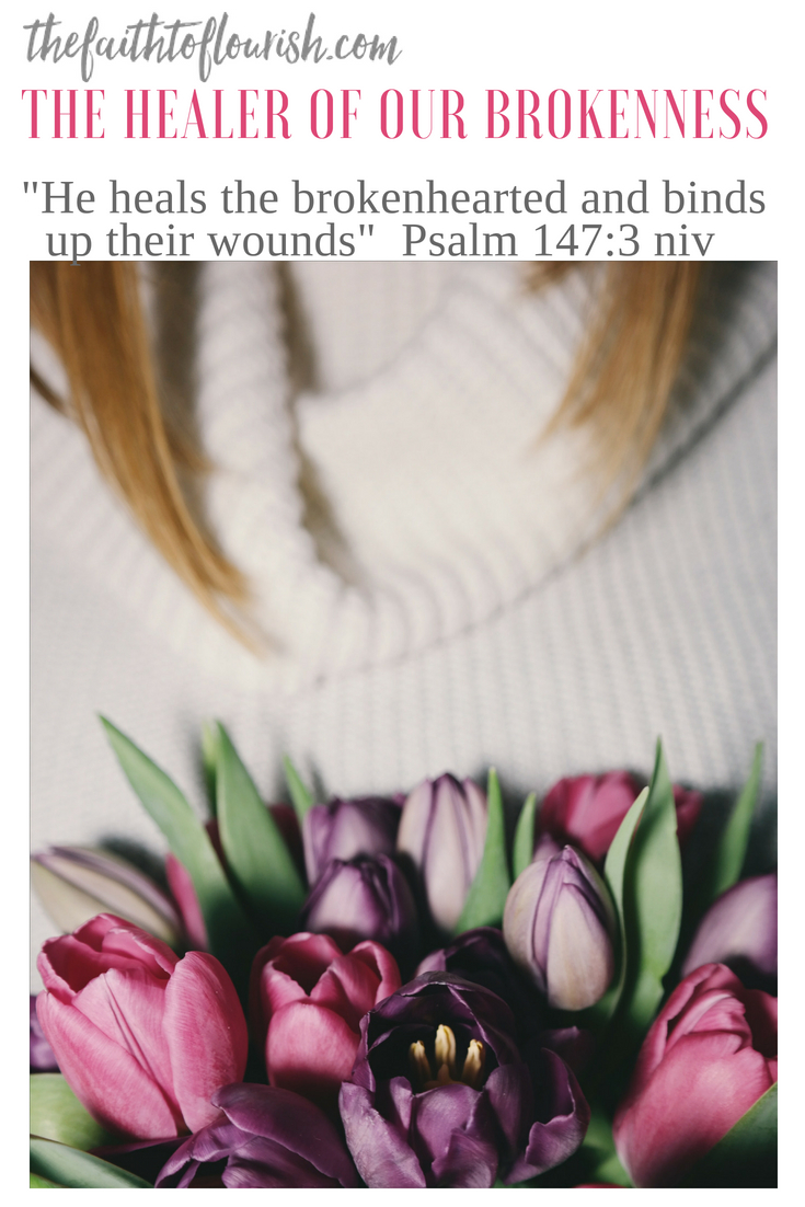 Healing from deep wounds takes time, some leaving permanent scars. Life can cause wounds that are so deep they leave us broken and scarred. When a family member or child suffers from addiction, alcoholism, or mental illness, life can be very painful. Other trials in life bring heartbreak as well. Divorce, sickness or death can leave us broken beyond repair. Jesus is the healer of our brokenness. He promises that as we turn to him, we will find healing and hope again. Dawn R. Ward shares a message of restoration and recovery in this blog from The Faith to Flourish.