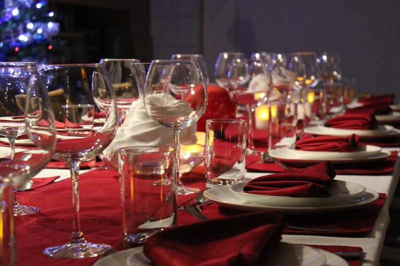 Mandy's table setting