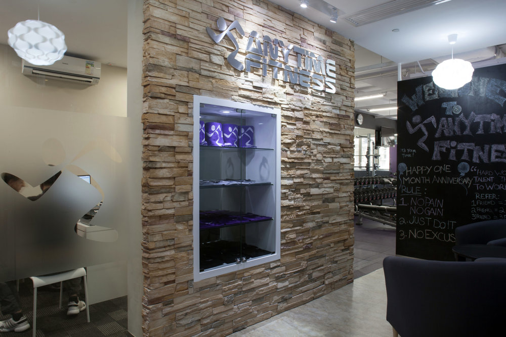 Anytime Fitness Entrance