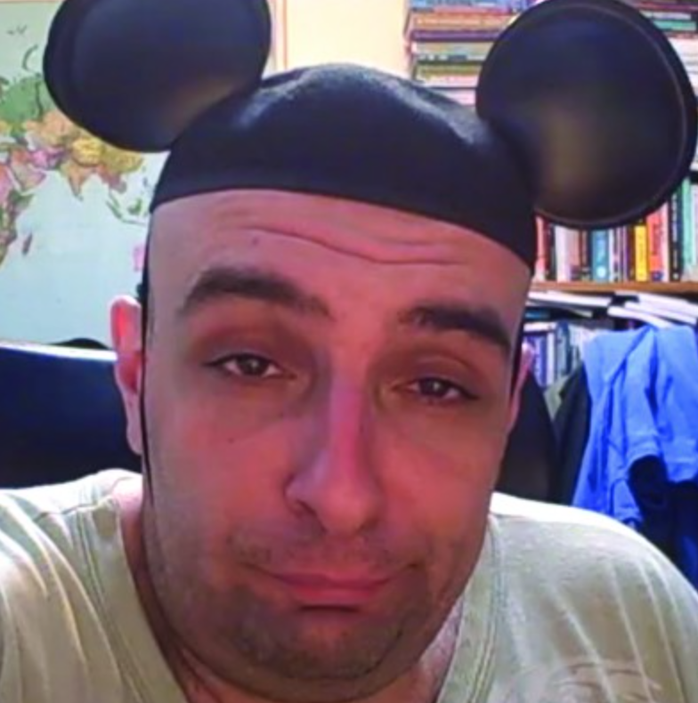 Mickey Mouse Fiverr Guy