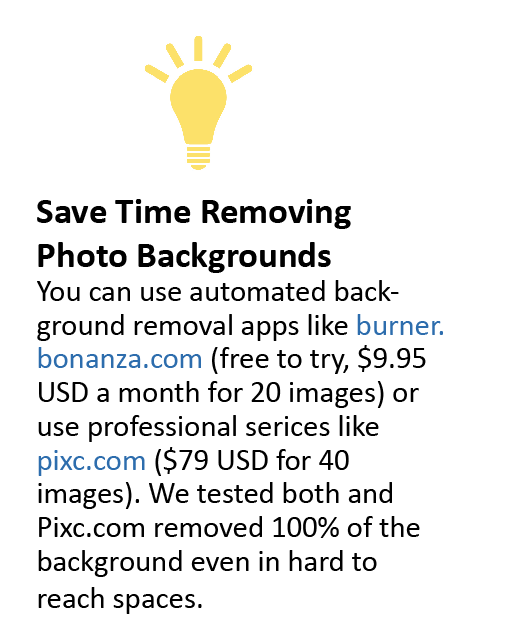 Remove Photo Backgrounds Quickly