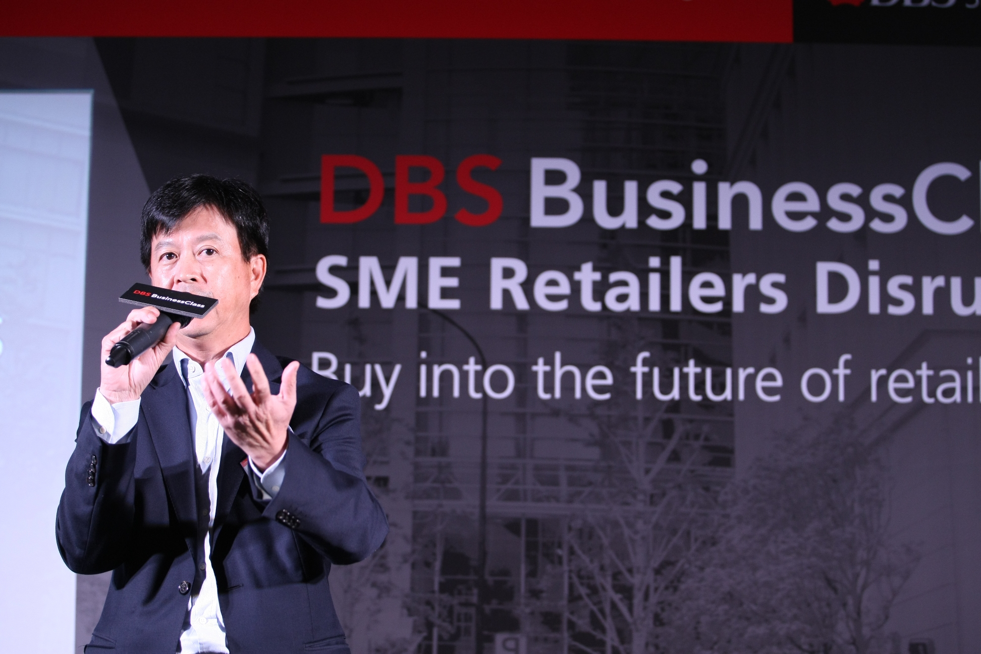 Alex Cheung, Managing Director, Head of Institutional Banking Group, Hong Kong, DBS Bank (Hong Kong) Limited, said in his speech that DBS BusinessClass is designed to help SMEs and entrepreneurs grow their business network and equip themselves with greater market insights.