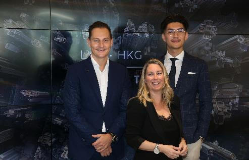 Left to Right: Dane Fisher, General Manager, Global Transformation & Brand at INFINITI Motor Company; Sally Osborne, Senior Manager, Technology Innovation at The Hongkong and Shanghai Hotels; Lawrence Hui, Co-founder and CTO at Cove