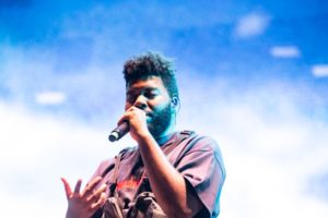 US R&B sensation KHALID brings his smooth vibes to the Harbourflap Stage