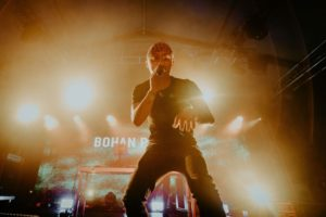 Hubei-born, US-raised rapper BOHAN PHOENIX unites hip-hop fans on the YourMum Stage by Red Bull