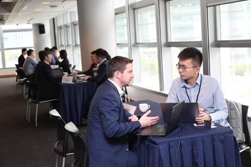 An investor matching session was held during the conference, offering 50 Greater Bay Area start-ups the opportunities to pitch their business ideas in one-on-one meetings with 20 Hong Kong and Mainland venture capital firms.