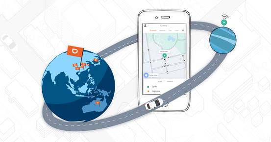 DiDi users traveled 48.8 billion km in 2018, equivalent to five interstellar round trips from Earth to Neptune