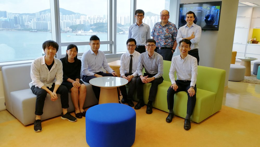 Data science students from HKU compete annually for the SAS Innovative Data Mining Award, which recognizes projects that address real-world problems. Pictured are the winners from 2018.