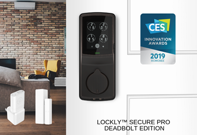 Lockly™ is honored with2019 CES Innovation Awards