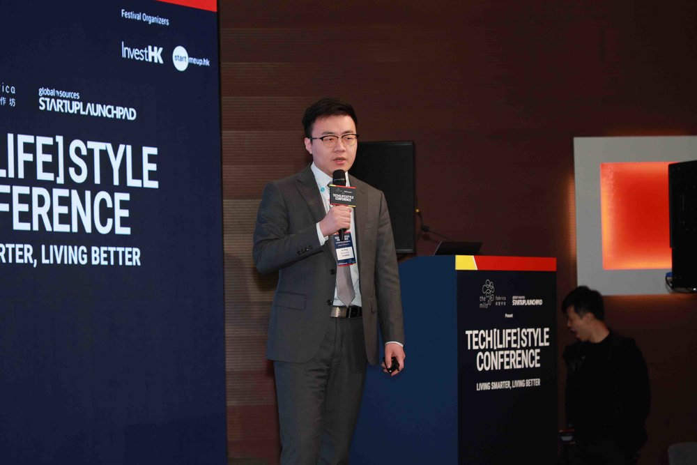 Xu Bing, Co-founder of SenseTime gave a presentation on 'How AI creates smarter living' at the Tech[LIFE]style Conference on 22 January 2019. SenseTime is one of Hong Kong's unicorns.