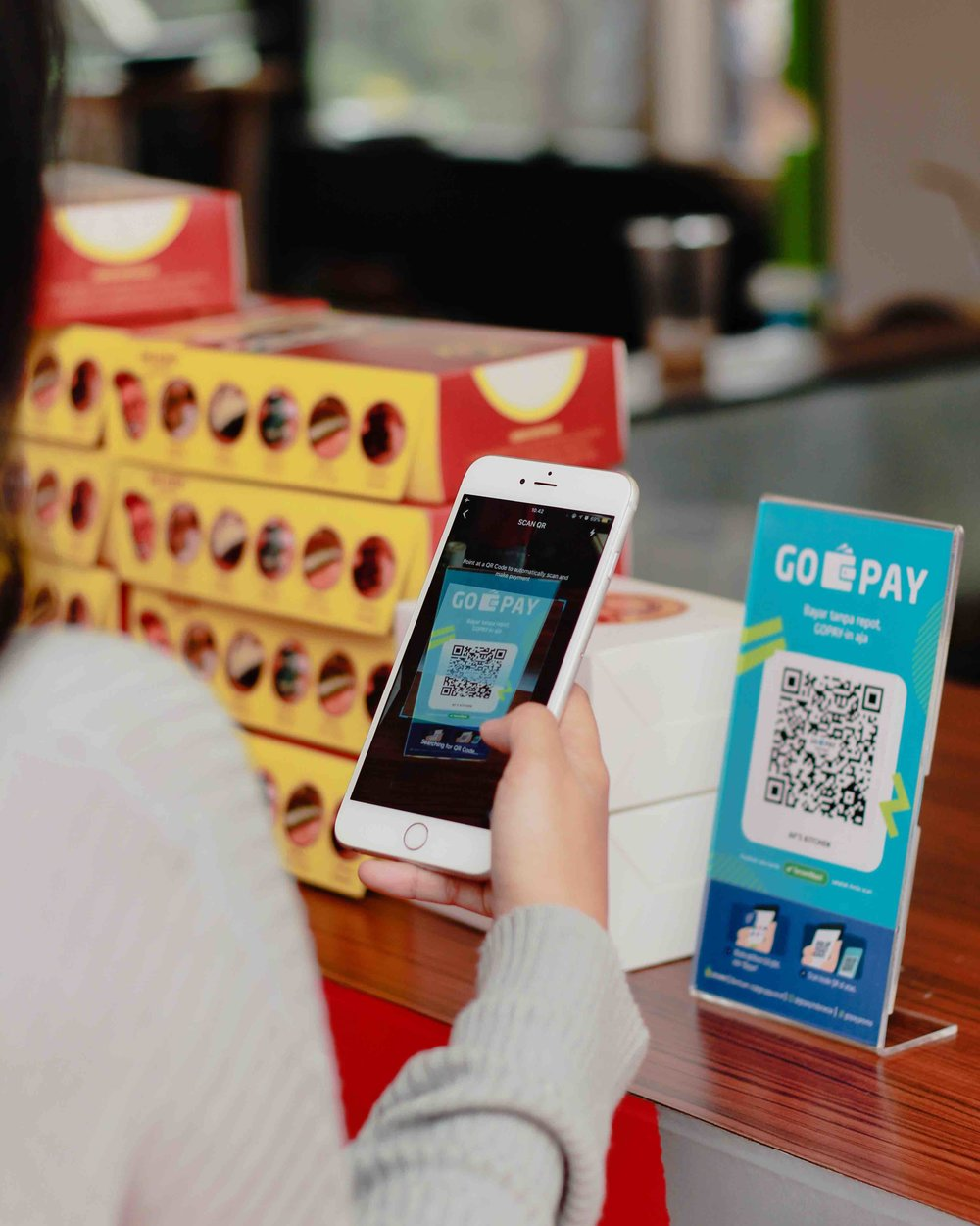 GO-PAY is GOJEK's digital payment platform and is bridging much of the unbanked in Indonesia with the formal economy for the first time.