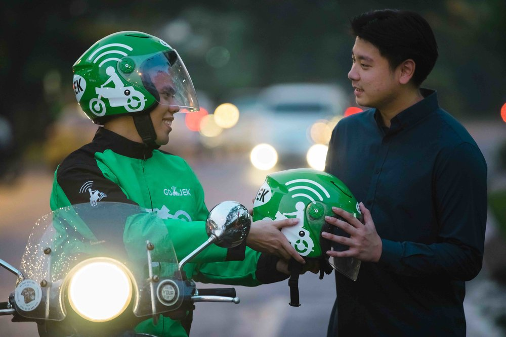GOJEK currently offers 19 services ranging from transportation, food delivery, groceries, massage, house cleaning to logistics, as well as one digital payments platform and one loyalty program. Photos courtesy of GOJEK.