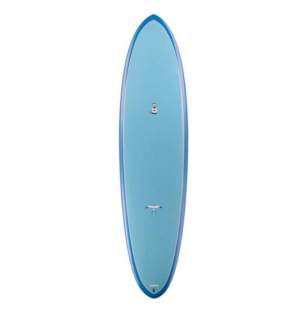 "TORQ - Mod Fish Soft Deck (Soft-top)   6'10 x 22"" x 2 7/8"" 50L"