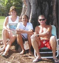 Annette Surles, Louise & Mark Sausen