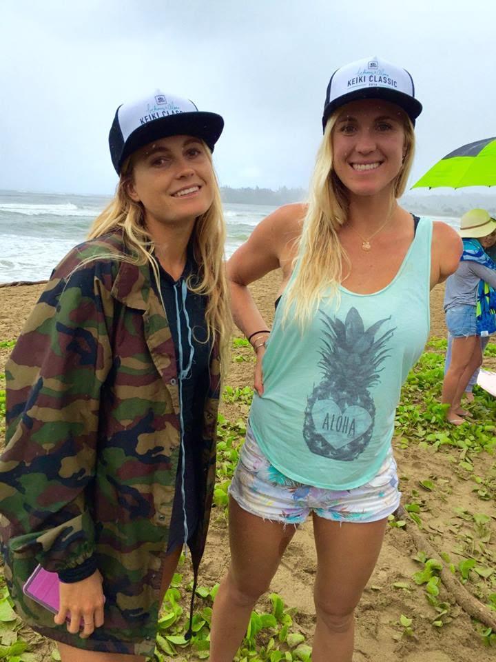 Alana Blanchard & Bethany Hamilton