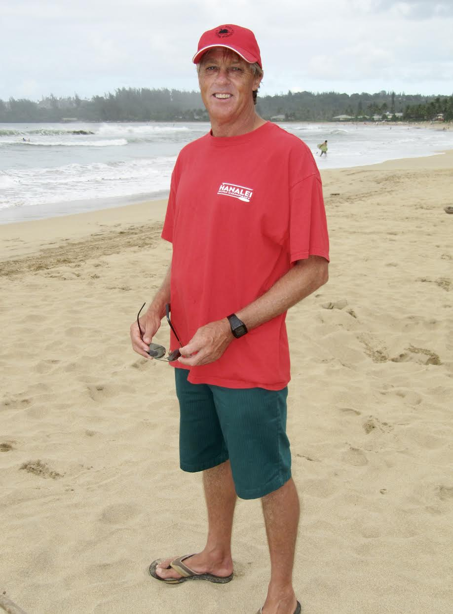 Russell Lewis - The Hanalei Surf Team Coach