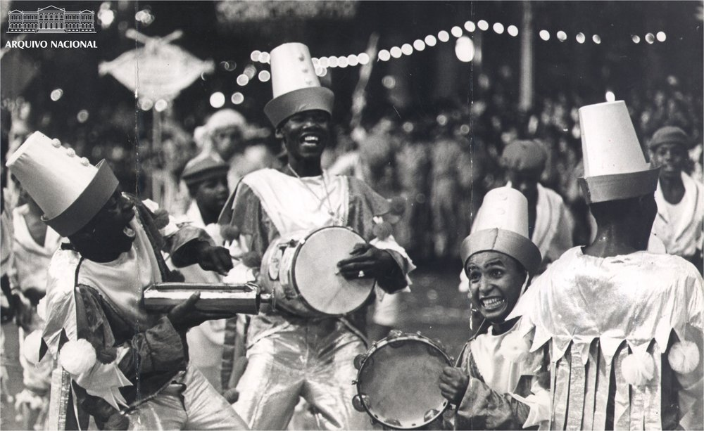 Carnival parade in 1965 (Photo: Brazilian National Archive)