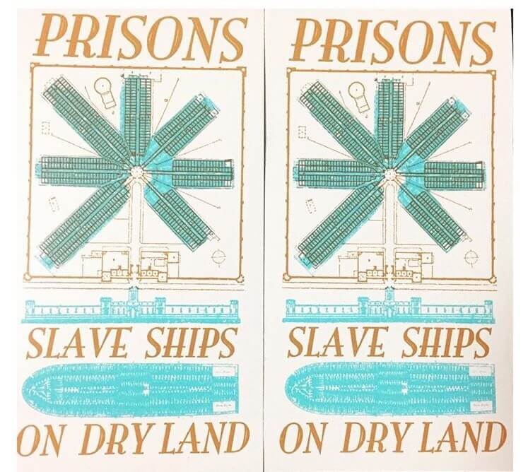 Prisons are Slaveships on Dry Land