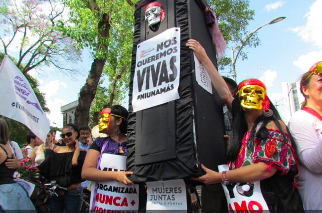 Photo by @luchadoras.tv