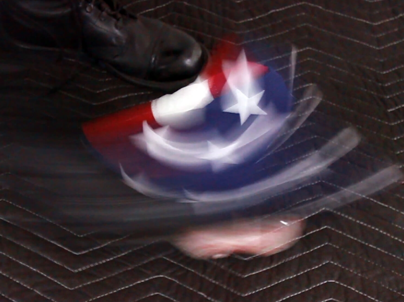 Rafael Fernando Gutierrez, Jr.,  FLAG FOOTBALL , 2018, video/performance documentation, dimensions variable