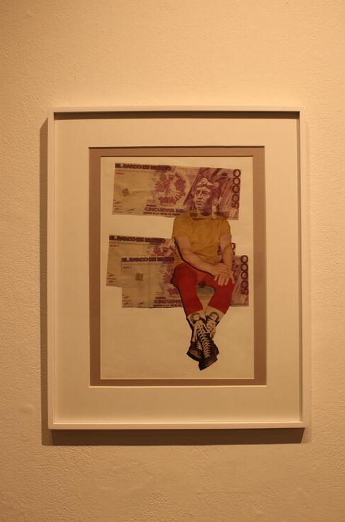 Taller Documentación Visual,  Necesito Dinero , collage, 1991