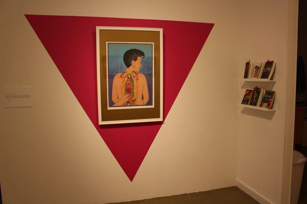 Ester Hernandez,  La Ofrenda II , screenprint, 1990 (All images courtesy Galería de la Raza)