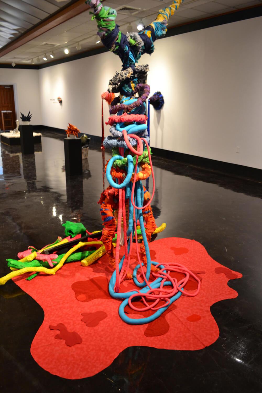 El Cucuy , Soft sculpture and textile