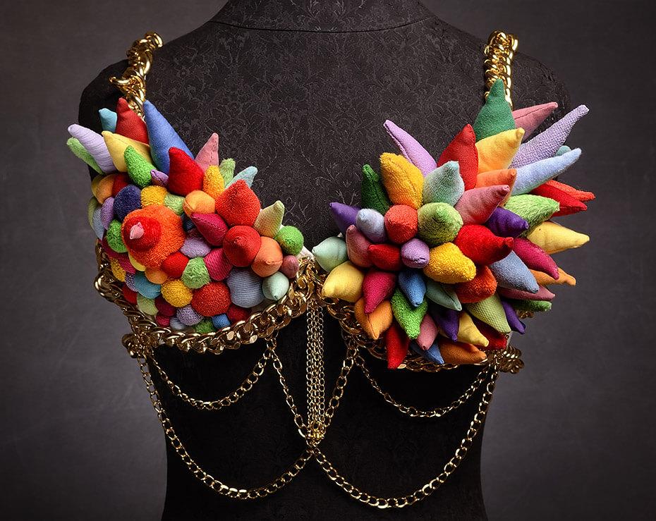 Pop Art ,   wearable soft sculpture