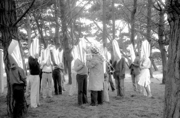 Phalène de los Espectros,  c.1979. Cortesía del Archivo Histórico José Vial, PUCV, Valparaíso